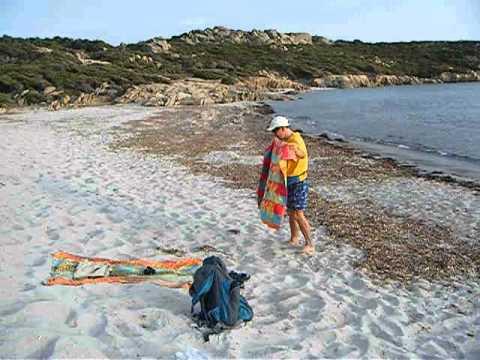 Cala Barbaria: vacanzieri solitari