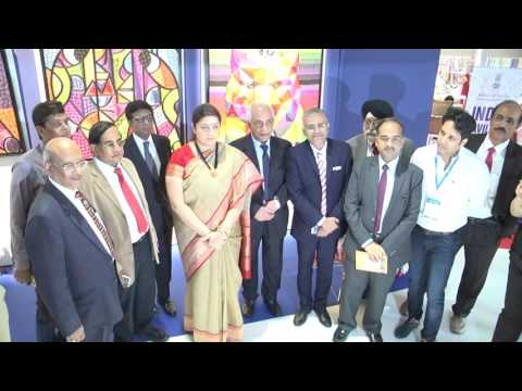 Inauguration of Indian Pavilion at WHO's NEXT, France