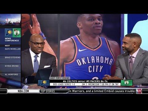 Grant Hill & Bredan Haywood on Game 1: Celtics beat Pacers 84-74   2019 NBA Playoffs