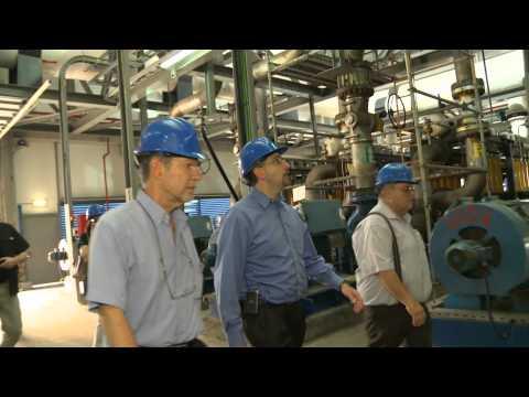 Ambassador Shapiro Visit to IDE Desalination Plant in Hadera