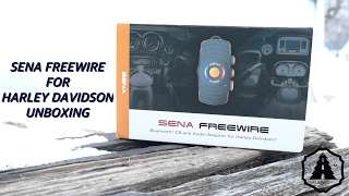 Sena Freewire unboxing