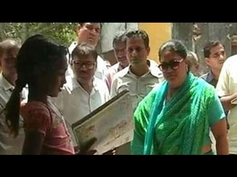 Government - At Bhadsoda village in Chittorgarh district, Rajasthan chief minister Vasundhara Raje is conducting a surprise check at a panchayat building. The building is locked. It looks dingy and dusty;...
