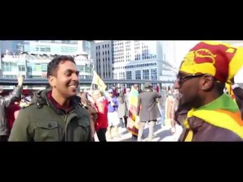 Cricket capers - Sri Lankan fans - CB Series, 2012