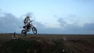 10. moto cross suzuki 250 & husqvarna te510 ie 2/11/08