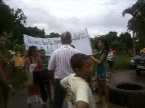 PROTESTO DE PAIS E COMUNIDADE EM JACILÂNDIA - ARAGUANÃ - TO