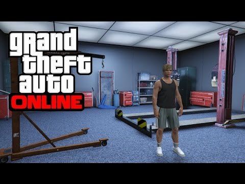 GTA 5 Online - How to Get Inside the Garage Mechanic Room
