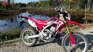 5. Honda crf250l first 100 miles