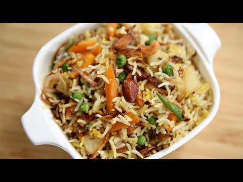How To Make Navratan Pulav | Navratan Pulao Recipe | Indian Rice Recipe | Recipe by Ruchi Bharani