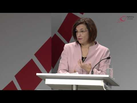 Milena Harito, Albanian Minister for Innovation at the