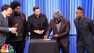 Video David Blaine Shocks Jimmy and The Roots with Magic Tricks MP3, 3GP, MP4, WEBM, AVI, FLV Juli 2019