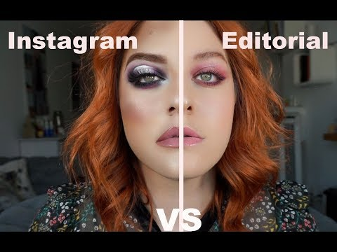 Instagram VS Editorial - Pamela Segura