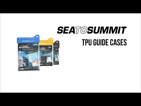 Sea to Summit Waterproof TPU Guide Cases