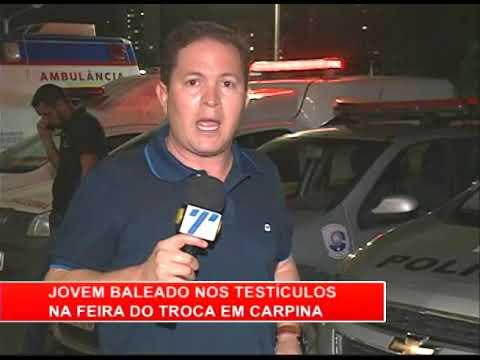 [RONDA GERAL] Em Carpina, jovem é baleado no testículo