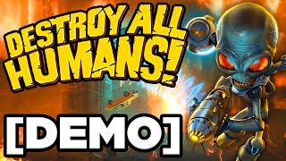 Destroy All Humans! Remake Demo - • ANCIENT ALIENS HAVE INVADED EARTH!!! (Gameplay / Let's Play)