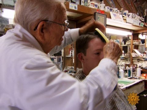 stillgoingstrong - The notion of retirement has little appeal for people whose work has always been a cut above. Steve Hartman introduces us to a barber who has been cutting ha...