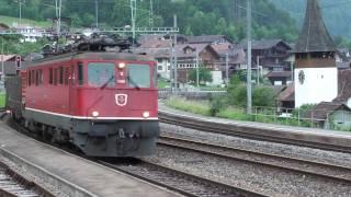 """0:00 [5.15] Ae 6/6 """"11426"""" fährt in Spiez ein mit 22 wagen 1:22 [5.19] Zug wird getrennt 1:50 [5.21] Ae 6/6 """"11426"""" wird an dem..."""