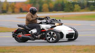 9. Otto Bike l 2018 Can Am Spyder F3 T  F3 T Limited Chassis Review