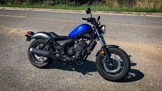 1. 2018 Honda Rebel 300 | First Ride & Review