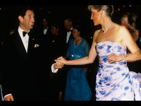Princess Diana and Prince Charles dancing in Australia (1988)