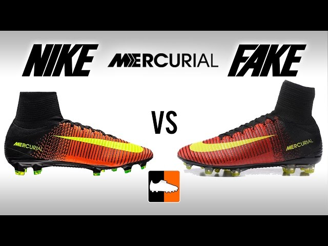 how to tell if nike mercurials are fake