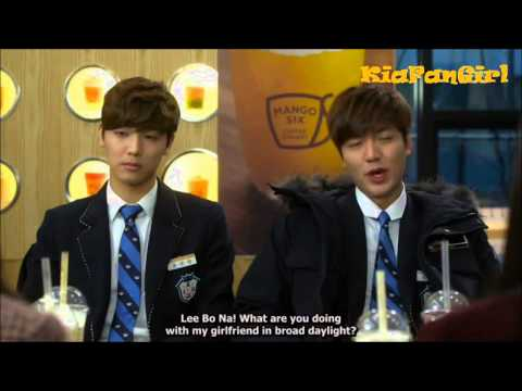 The Heirs Episode 19 Cute Jealous Moment (видео)