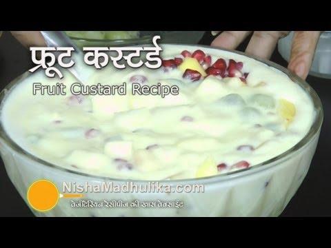 Fruit Custard recipe | Fruit Salad with Custard