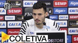 Confira como foi a coletiva de imprensa do lateral esquerdo Zeca.Inscreva-se na Santos TV e fique por dentro de todas as novidades do Santos e de seus ídolos! http://bit.ly/146NHFUConheça o site oficial do Santos FC: www.santosfc.com.brCurta nossa página no facebook: http://on.fb.me/hmRWEqSiga-nos no Instagram: http://bit.ly/1Gm9RCSSiga-nos no twitter: http://bit.ly/YC1k82Siga-nos no Google+: http://bit.ly/WxnwF8Veja nossas fotos no flickr: http://bit.ly/cnD21USobre a Santos TV: A Santos TV é o canal oficial do Santos Futebol Clube. Esteja com os seus ídolos em todos os momentos. Aqui você pode assistir aos bastidores das partidas, aos gols, transmissões ao vivo, dribles, aprender sobre o funcionamento do clube, assistir a vídeos exclusivos, relembrar momentos históricos da história com Pelé, Pepe, e grandes nomes que só o Santos poderia ter.Inscreva-se agora e não perca mais nenhum vídeo! www.youtube.com/santostvoficial-------------------------------------------------------------** Subscribe now and stay connected to Santos FC and your idols everyday!http://bit.ly/146NHFUVisit Santos FC official website: www.santosfc.com.brLike us on facebook: http://on.fb.me/hmRWEqFollow us on Instagram: http://bit.ly/1Gm9RCSFollow us on twitter: http://bit.ly/YC1k82Follow us on Google+: http://bit.ly/WxnwF8See our photos on flickr: http://bit.ly/cnD21UAbout Santos TV: Santos TV is the official Santos FC channel. Here you can be with your idols all the time. Watch behind the scenes, goals, live broadcasts, hability skills, learn how the club works, exclusive videos, remember historical moments with Pelé, Pepe and all of the awesome players that just Santos FC could have. Subscribe now and never miss a video again! www.youtube.com/santostvoficial