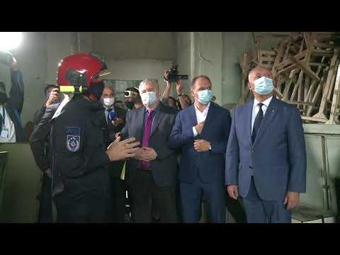 Глава государства начал кампанию по восстановлению Национальной филармонии после пожара