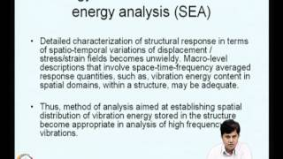 Mod-09 Lec-36 Fatigue Failure&Vibration Energy Flow Models