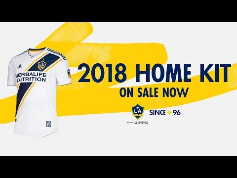 Video: First Look at the 2018 Galaxy Jersey | Since '96