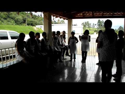 Curso: Pintura em Tecido - Senar SPRNR - Nova Resende / MG - 10 de fevereiro de 2012
