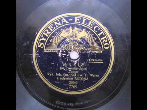 Tekst piosenki Adam Aston - Marie - tango (1933) po polsku