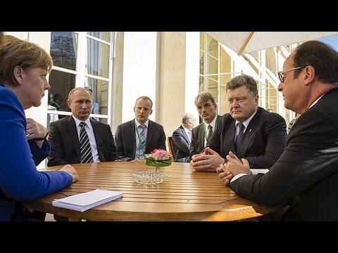 Παρίσι: Σημαντικά βήματα για την ειρήνη στην Ουκρανία