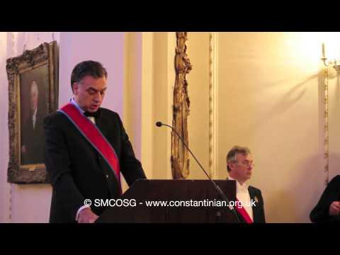Ordine Constantiniano 2012 – Investitura del Presidente del Montenegro investitura