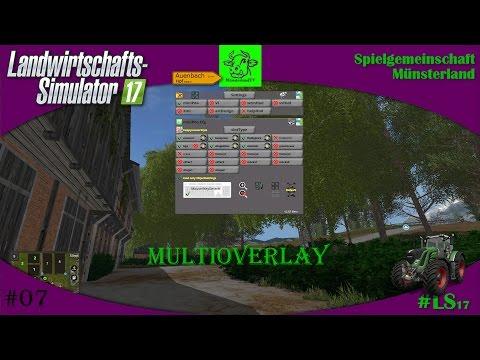 MultiOverlay Hud LS17 Convert v2.96 Beta