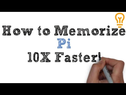 How to Memorize Pi - Easiest Way Possible