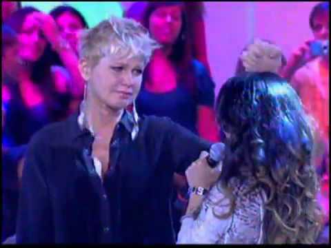 Barros - Xuxa Chora muito. Emocionante! TV Xuxa 11/02/2012 - Ressucita-me