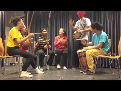 Harlem Shake Capoeira version