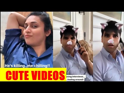 In Video: Divyanka Tripathi shoots cute videos of hubby Vivek Dahiya