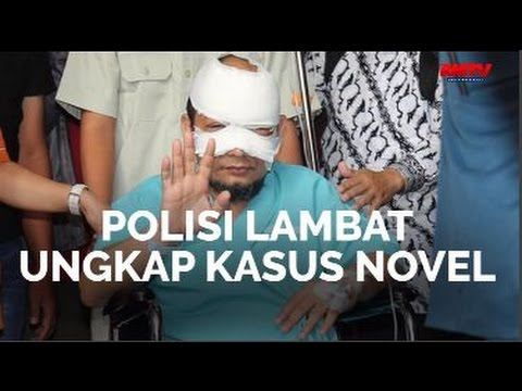 Polisi Lambat Ungkap Kasus Novel