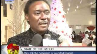 Rev.Okotie optimistic of a united Nigeria