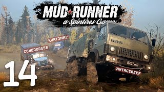 Spintires: Mudrunner Co-op - 14 - Valley Boys