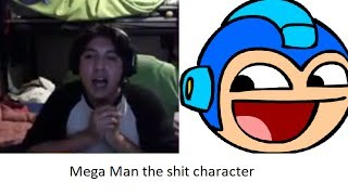 """Mega man the """"shit character"""""""