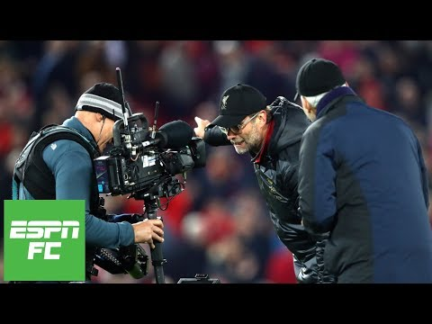 Where Jurgen Klopp Ranks Among Best Manager Celebrations Ever | ESPN FC