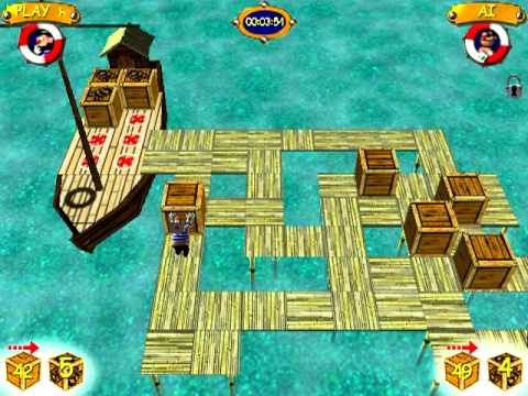sokoban 3d pc game