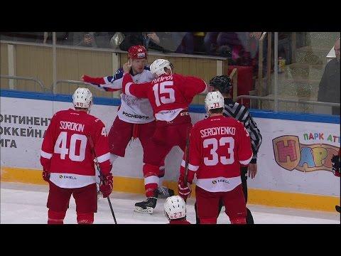 KHL Fight: Potapov VS Art.Sergeyev (видео)