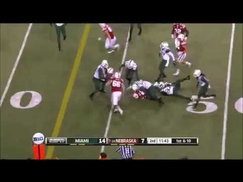 Kenny Bell Game Highlights vs Miami 2014 video.