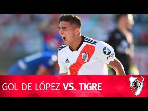 Gol de Hernán López vs. Tigre