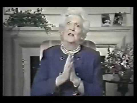 brainwash - Startling video footage of Bill Clinton, Barbara Bush, et al under the influence of mind control/brainwashing.