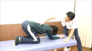 肘付き腕上げ 改善エクササイズ②【ケガ予防フィジカルチェック用】